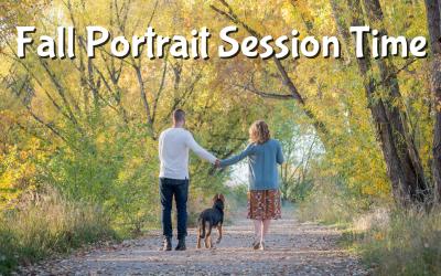 Fall Portrait Season is Here!
